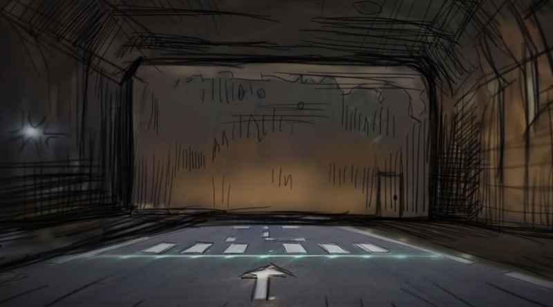 16 Inside A Cavern Where A Ship Parks