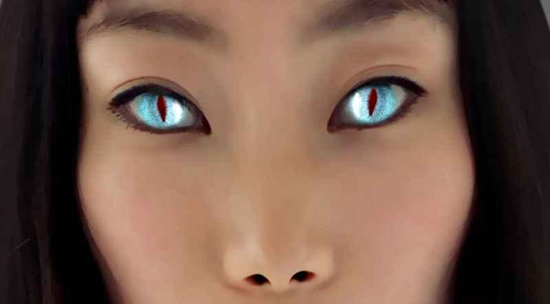 31 Close Up Of Asian ET