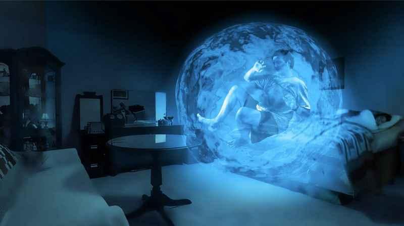 43 Corey Inside Blue Sphere